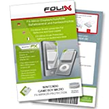 echange, troc FoliX FX-MIRROR Miroir-Ecran-Protecteur pour Nintendo Gameboy Micro - Réfléchissants et à revêtement dur!