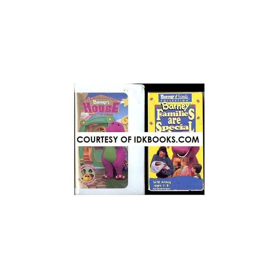 Childrens VHS Come On Over To Barneys House *Plus Free Gift Barney