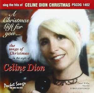 CD(G) KARAOKE CELINE DION CHRISTMAS (Livret Paroles inclus)