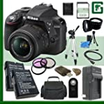 Nikon D3300 CMOS DSLR Camera with 18-...