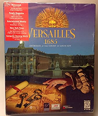 1997 Versailles 1685 Intrigue at the Court of Louis X!V PWindows 95 DOS Mac OS CD-ROM