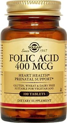 Solgar - Folic Acid 400 mcg.