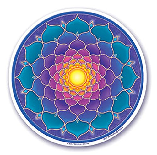 mandala-arts-colorful-decal-window-sticker-45-double-sided-central-sun-by-bryon-allen-s33