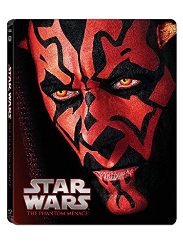 Star Wars: Episode I - The Phantom Menace Steelbook [Blu-ray]
