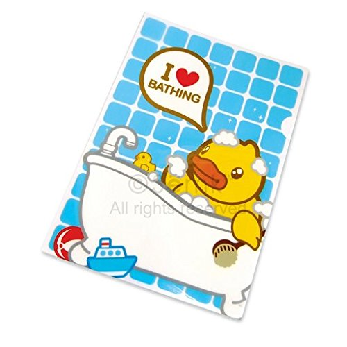 B.Duck Plastic Folder, Blue and White - 1