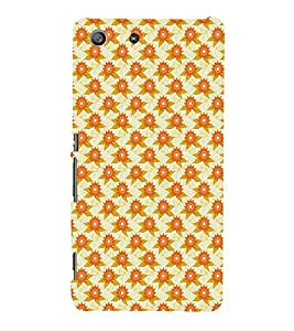 EPICCASE bliss flowers Mobile Back Case Cover For Sony Xperia M5 (Designer Case)