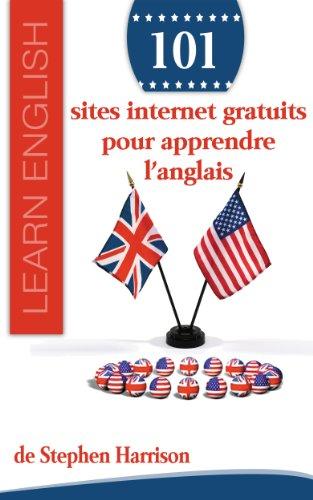Couverture du livre 101 sites internet gratuits pour apprendre l'anglais