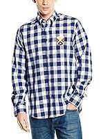 POLO CLUB CAPTAIN HORSE ACADEMY Camisa Hombre Big Gentle Trend (Azul Marino)