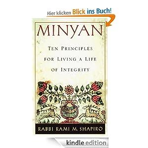Minyan ten principles for living a life of integrity - Ou acheter des stickers ...