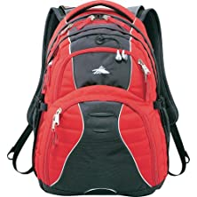 "buy High Sierra® Swerve 17"" Laptop Computer Backpack - Red"