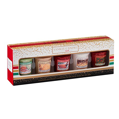 Yankee Candle 1521553 Holiday Party 5 Votive Gift Set...