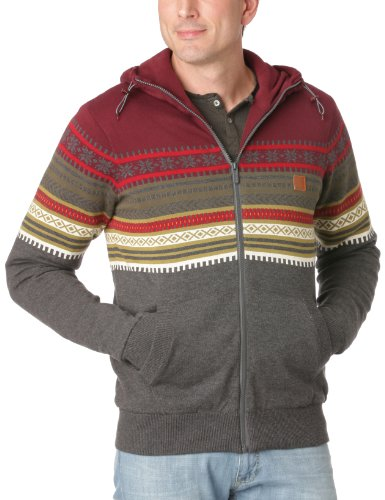 Bench Krypton Men's Jumper Burgundy Small