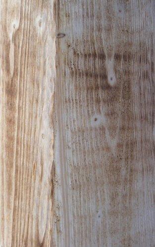 Holz-Deko-Sule-flambiert-mit-rostiger-Pflanzschale