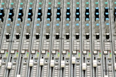 """Wallmonkeys Peel and Stick Wall Graphic - Mixing Console - 24""""W x 16""""H"""
