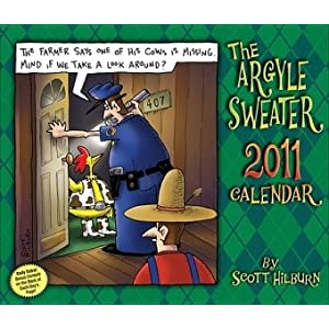 Argyle Sweater: 2011 Day-to-Day Calendar