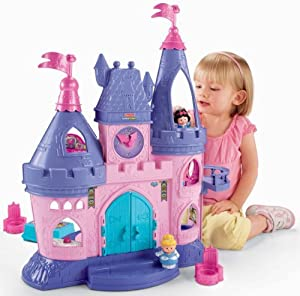 Fisher-Price Little People Disney Princess Songs Palace Children / Kids Toy / Game