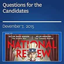 Questions for the Candidates (       UNABRIDGED) by Ramesh Ponnuru Narrated by Mark Ashby