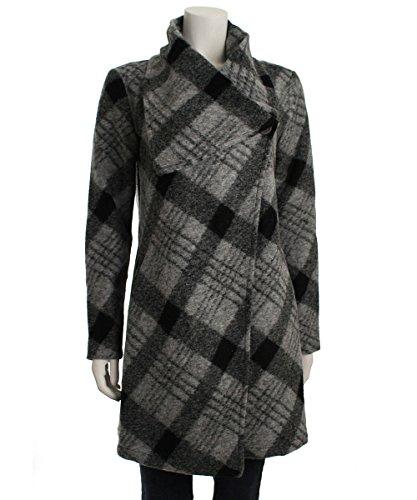 Bb Dakota Colton Coat (Black/White), Large