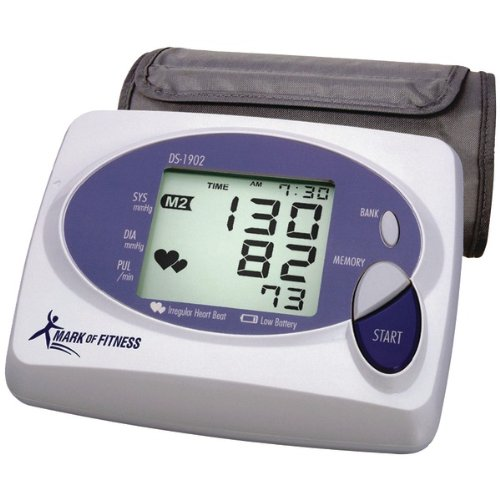 Cheap Fully Automatic Blood Pressure Monitor – MARK OF FITNESS (H75H37.4900-PT)