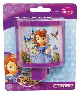 Night Light Curved Disney Sofia the First - 1