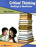 img - for Critical Thinking: Readings in Nonfiction, High School book / textbook / text book