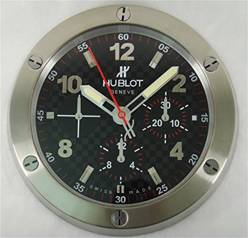 hublot-silencioso-luminoso-sweep-reloj-de-pared-plata-negro