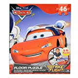 Kids Disney Pixar 46pc Floor Puzzle Extra Large Jigsaw - Cars Lightning McQueen