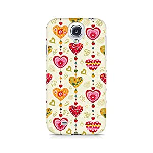 Mobicture Hearts Premium Printed Case For Samsung S4