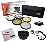 67MM Professional Lens Filter Accessory Kit for CANON Rebel T5i, T4i, T3i, T3, T2i, EOS 700D, 650D, 600D, 550D, 70D, 60D, 7D and 6D DSLR Cameras with 18-135MM EF-S IS STM Zoom Lens - Includes Opteka Filter Kit (UV, CPL, FLD, ND4 and 10x Macro) + Carry Po