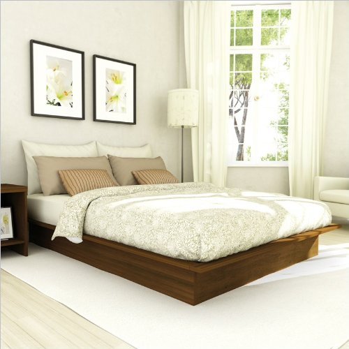 Black friday sonax contemporary queen platform bed in for Cheap queen platform bed