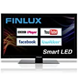 Finlux 40 Inch Frameless Smart DLNA LED Full HD 1080p TV Freeview HD Widescreen PVR Black – 40S8070-T