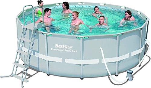 Bestway Schwimmbecke steel set, 427 x 122 cm