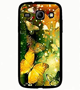 ColourCraft Beautiful Butterflies Design Back Case Cover for SAMSUNG GALAXY CORE I8262 / I8260