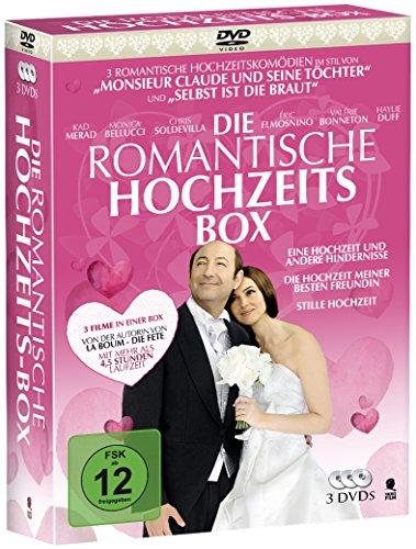 Die romantische Hochzeitsbox - 3 romantische Hochzeitskomödien in einer Box: Eine Hochzeit und andere Hindernisse, Die Hochzeit meiner besten Freundin, Stille Hochzeit (3 DVDs)