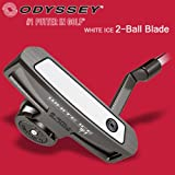 オデッセイ ゴルフ WHITE ICE 2 Ball Blade ホワイトアイス 2ボール ブレードパター 34インチ