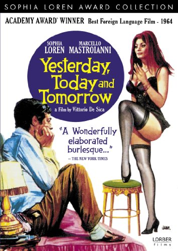 Amazon Com Yesterday Today And Tomorrow Sophia Loren