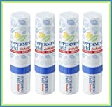 4 X Peppermint Field Aromatic Nasal Inhaler Relief Cold Dizzy & Sinus Congestion Amazing of Thailand