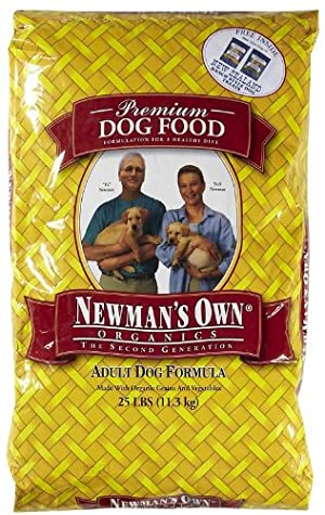 NEWMAN'S OWN 576011 Organic Adult Dry Dog Food, 25-Pound