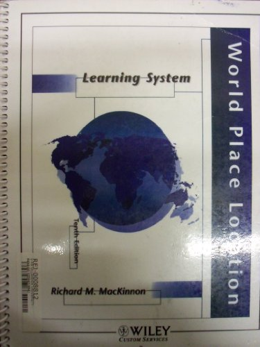 World Place Location Learning System