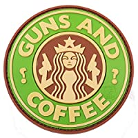 Guns & Coffee Patch Multicam Moral Patch Rubber Airsoft