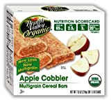51WfC98M4kL. SL160  Health Valley Cobbler Cereal Bars, Apple, 6 Count 7.9 Ounce Boxes (Pack of 6)