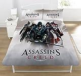 Assassins Creed 'Heroes Montage' Duvet Set, Multicolour, Double