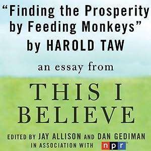 Believe audio essays