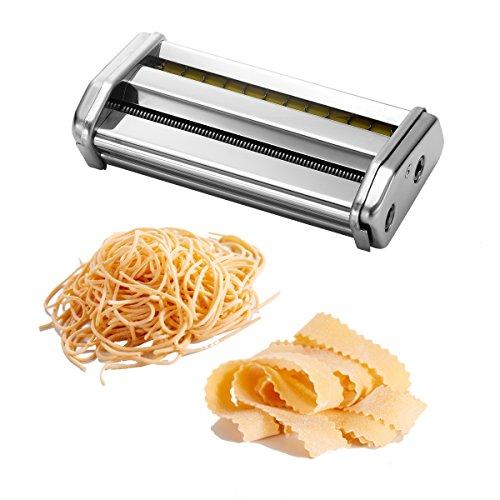 Ovente ACPPA7050S Double Pasta Attachment, Angel Hair (1mm) / Lasagnette (12mm) (Imperia Pasta Accessories compare prices)