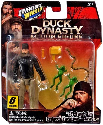 Adventure Wheels Duck Dynasty Figure Jase - 1