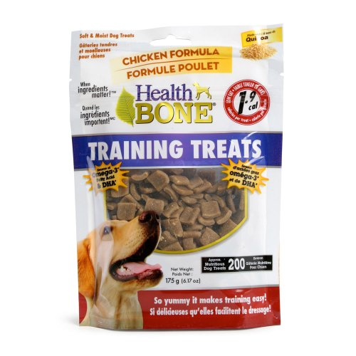 Omega Paws Health Bone Training Chicken Treats, Mini (Training The Omega compare prices)