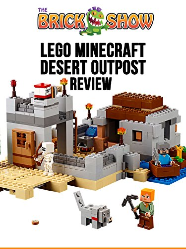 LEGO Minecraft Desert Outpost Set 21121