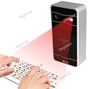 Mini Bluetooth2.0 Laser Projection Wireless Virtual Keyboard for Android Phone iPhone iPad Laptop ECAKB-334095