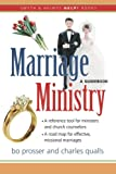 img - for Marriage Ministry: A Guidebook (Smyth & Helwys Help! Books) book / textbook / text book