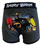 Angry Birds - Bóxers - para niño gris gris